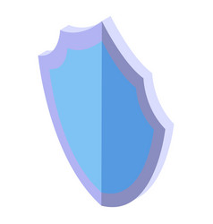 mite shield protect icon isometric style vector image