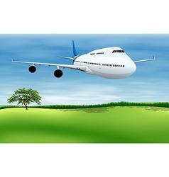 Plane Landing vector