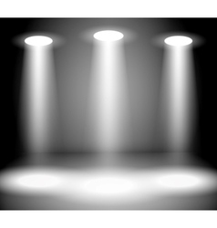 Reflector lights vector