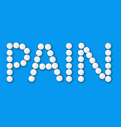 Pain text vector