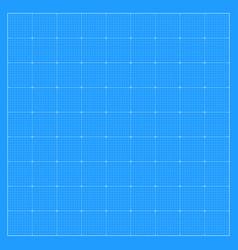 Square blueprint background vector