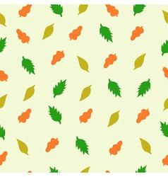 pattern leaf4 vector image vector image