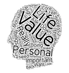 Are Your Personal Values Aligned With Your Path To vector