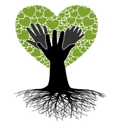 Family Tree-Hand vector image