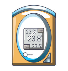 medical tonometer icon cartoon style vector image