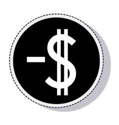 money symbol isolated icon vector image