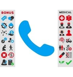 Phone Receiver Icon vector image