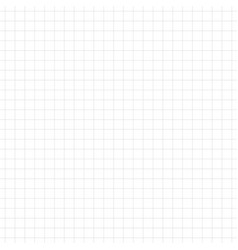 seamless grid pattern notebook paper sheet vector image