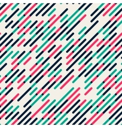 Seamless Parallel Diagonal Red Green vector image