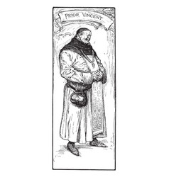 Sir richard o the lea vintage vector