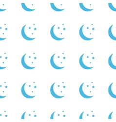 Unique Moon seamless pattern vector