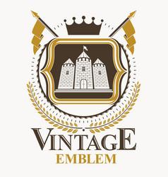 vintage design element retro style label vector image