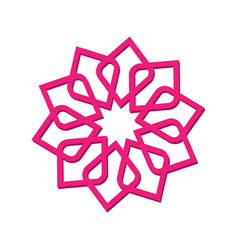 Logo icon abstract symbol vector