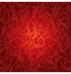 abstract seamless floral vector image vector image