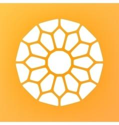 Decorative Mandala Ornaments Logo vector image