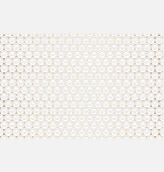 abstract embossing volume white texture vector image