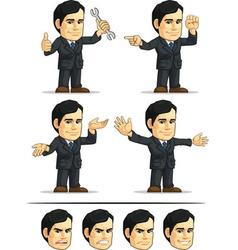Businessman or Company Executive Customizable 10 vector image