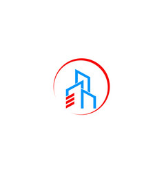 City building realty business logo vector
