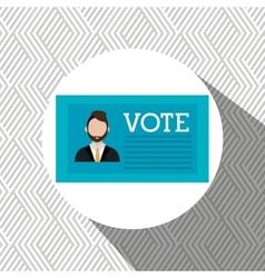 Elections concept design vector