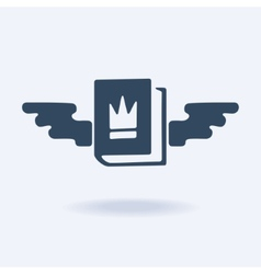 Emblem is very important book vector image