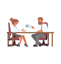 employment people concept vector image
