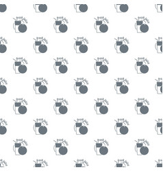 fresh juice pattern seamless vector image