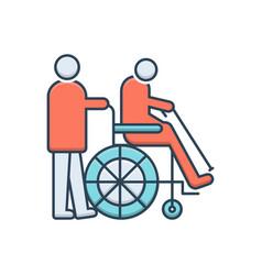 Handicapped vector