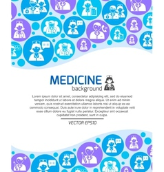 Healthcare doctors background vector