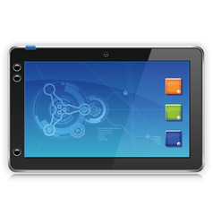 IPad Touchpad Tablet Computer vector
