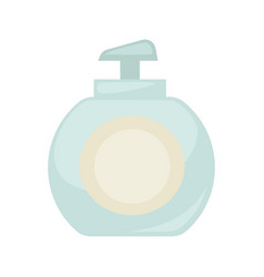 Liquid soap bottle or body lotion cosmetics vector
