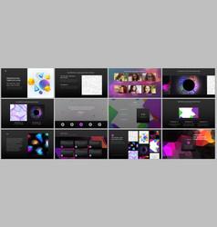 Minimal presentations portfolio templates simple vector