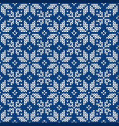 Winter ornament with snowflakes christmas and new vector