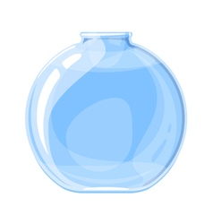 Empty Elixir Bottle vector image vector image