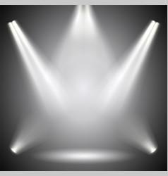 scene illumination background bright lighting vector image vector image