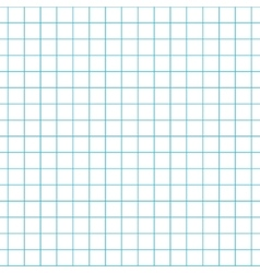 Checkered notebook paper seamless pattern vector