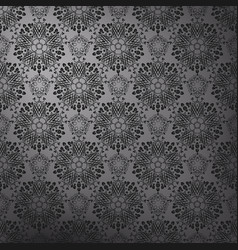 Dark lace pattern vector