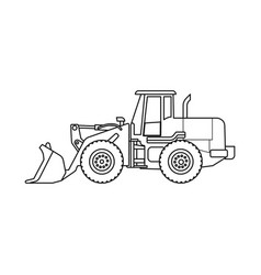 Design of build and construction symbol vector