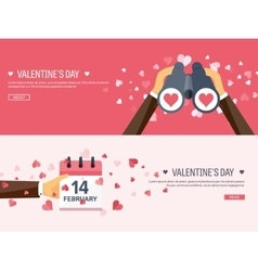 Flat background with vector image