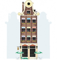 holland house vector image