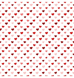 little hearts vector image