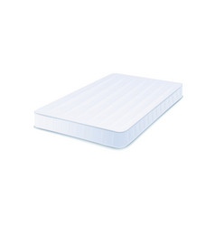 orthopedic clean mattress 3d vector image