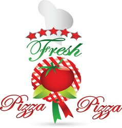 pizza 01 resize vector image