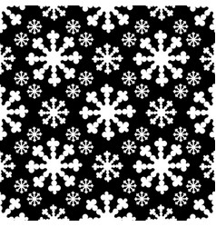 Seamless pattern with big flake vector