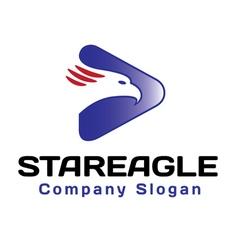 Stareagle Design vector image
