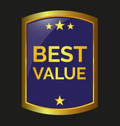 best value label vector image