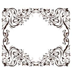 frame retpo vector image