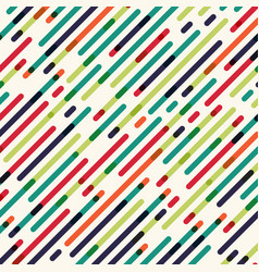abstract seamless diagonal red green and blue vector image