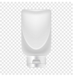 Big creme tube icon realistic style vector