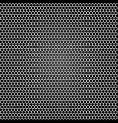 grid gray metal black background vector image