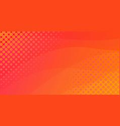 Halftone minimalistic horizontal banner background vector